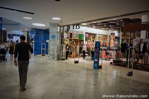サンティアゴ ショッピング