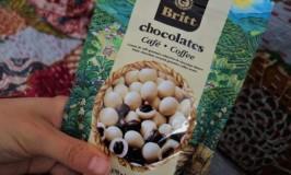 ナンパとモアイとBrittのコーヒービーンチョコレート@チリ土産