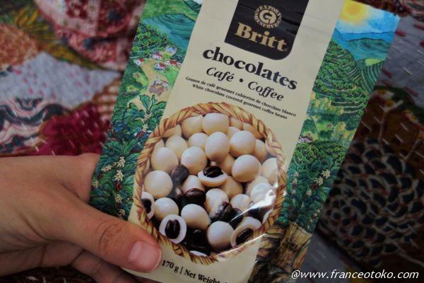 britt チョコレート