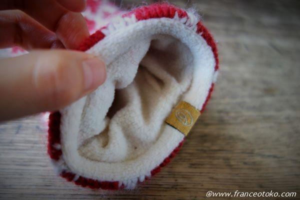 Fuzawool ハートミトン 手袋