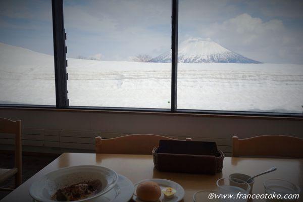 羊蹄山 レストラン ニセコ