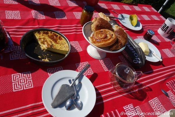 フランス 朝ご飯