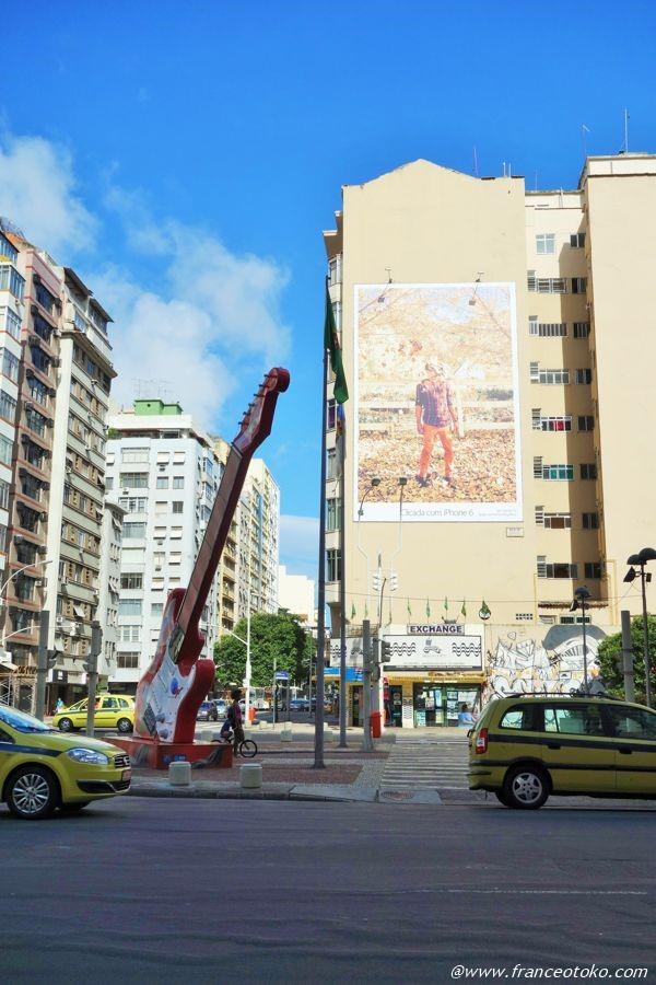 リオデジャネイロ ギター通り