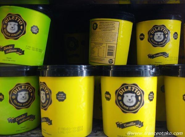 ブラジル アイス diletto