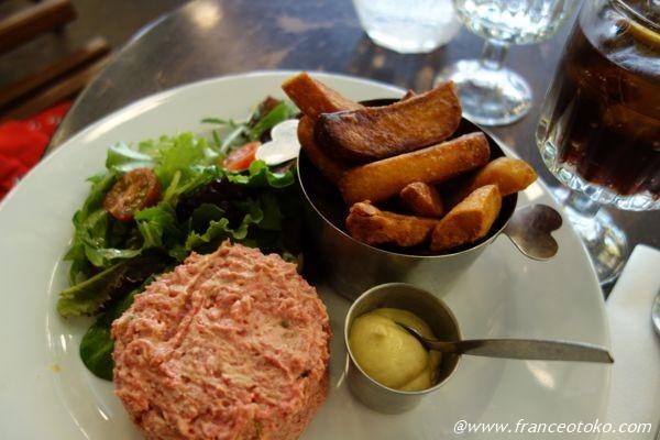 タルタルステーキ フランス