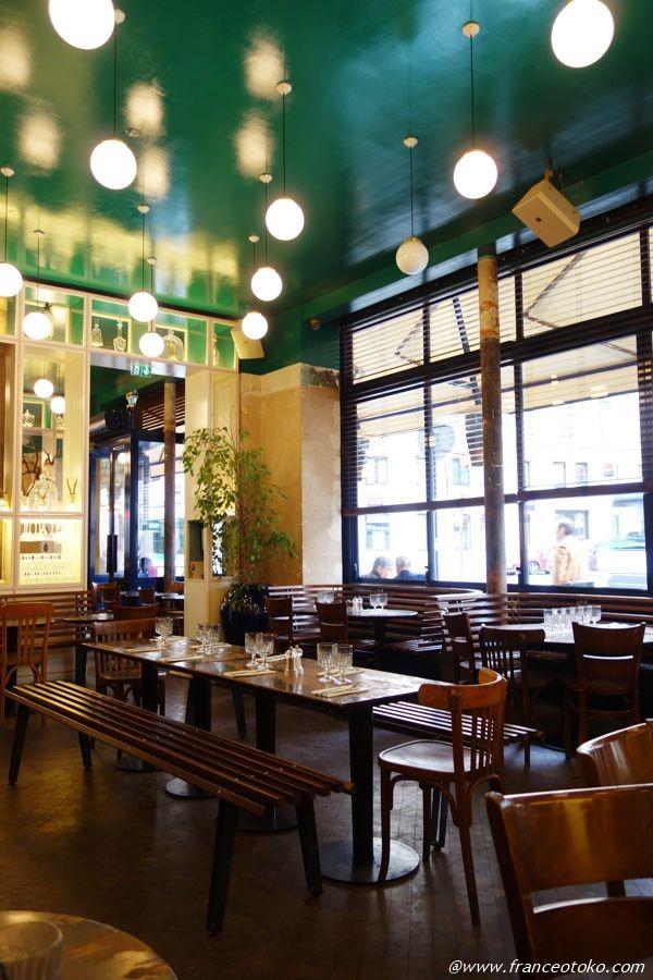 パリ スタイリッシュなレストラン