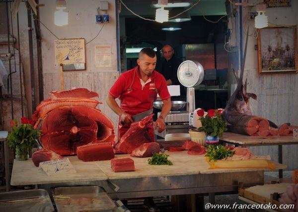イタリア 魚市場