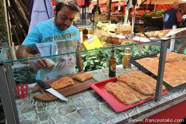 シチリア ピザっぽいパン