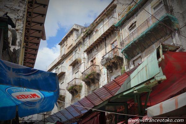 シチリア 建物