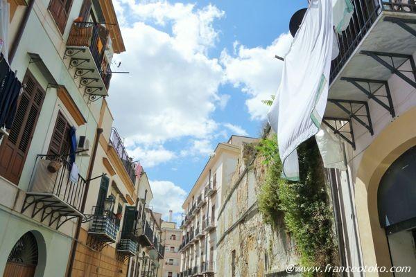シチリア 洗濯物