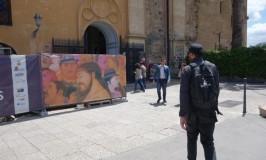 きらきらパレルモ☆ノルマンニ宮殿でフェルナンド・ボテロのキリスト受難