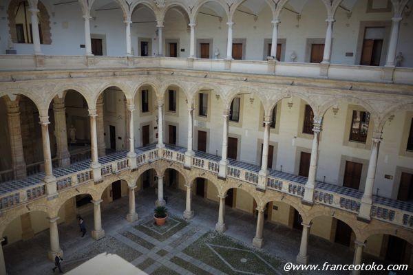 ノルマンニ宮殿 イタリア 建築