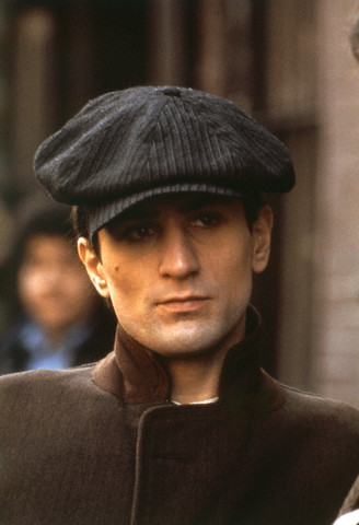 "1975 --- Robert De Niro on the set of ""The Godfather-Part II"". --- Image by © Sunset Boulevard/Corbis"