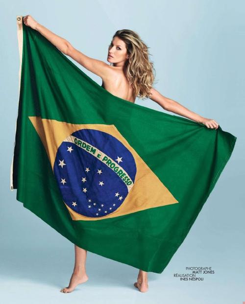 ジゼルブンチェン ブラジル