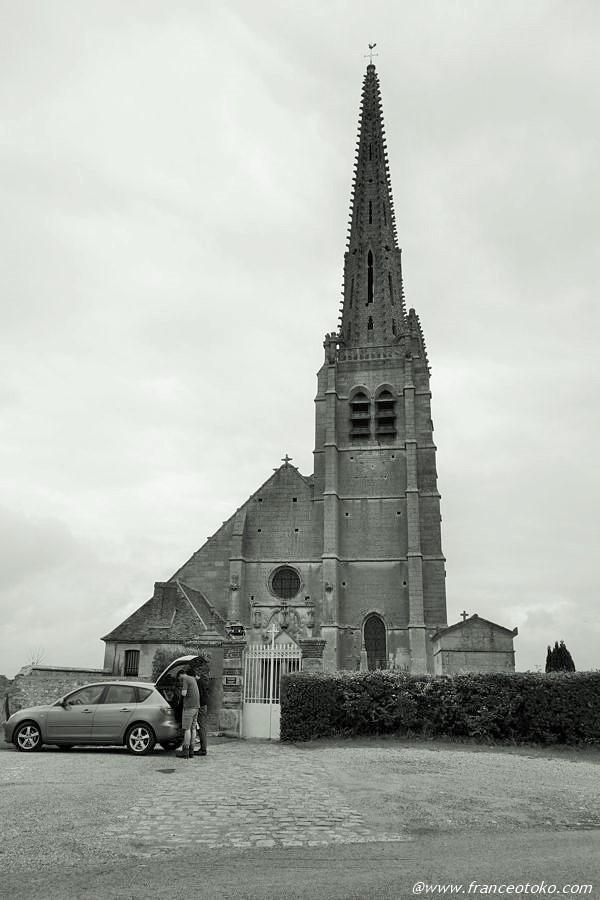 古い教会 ゴシック フランス