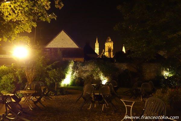 フランス夜