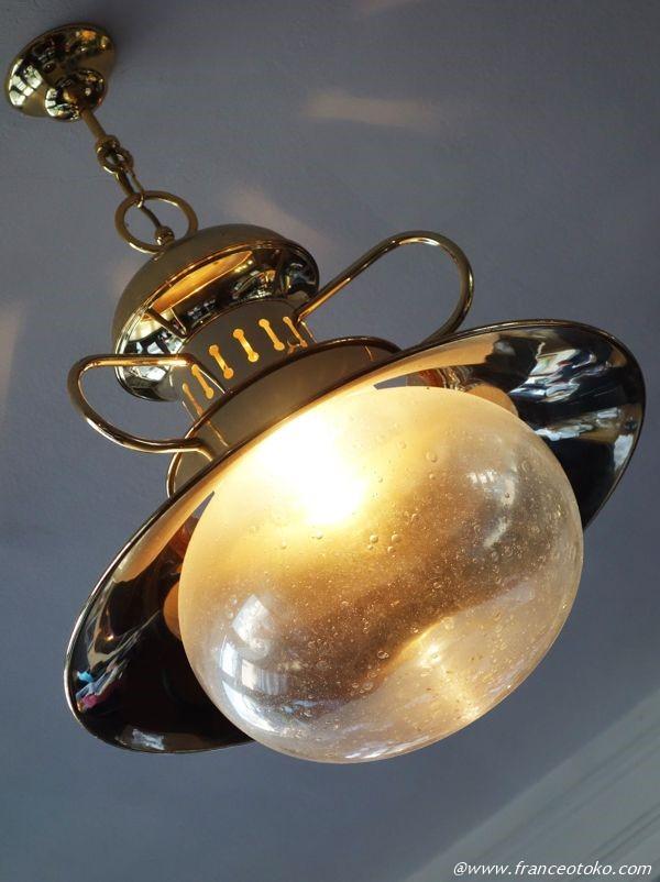 ガラス ランプ