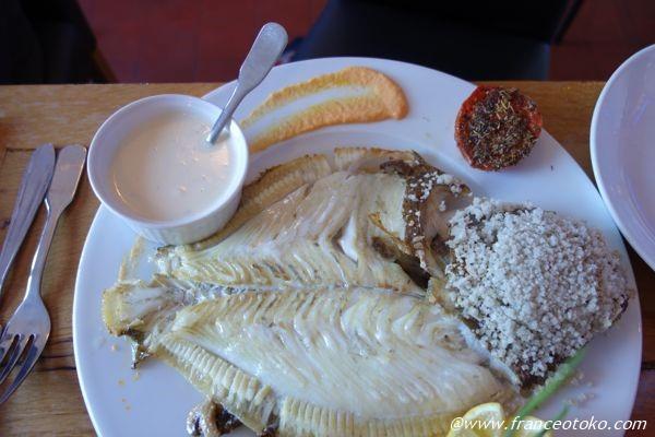 フランス 魚料理