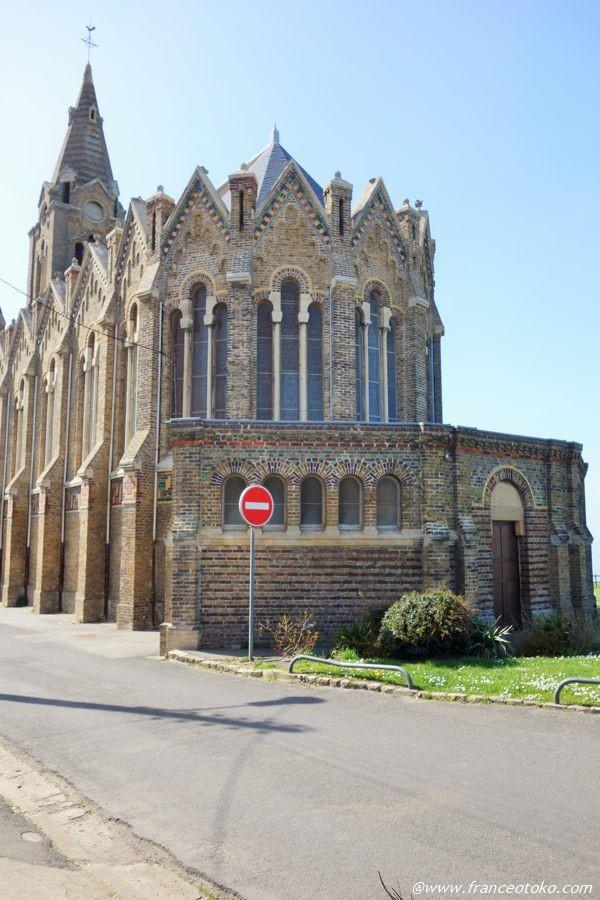 Chapelle Notre Dame de Bonsecours ディエップ観光