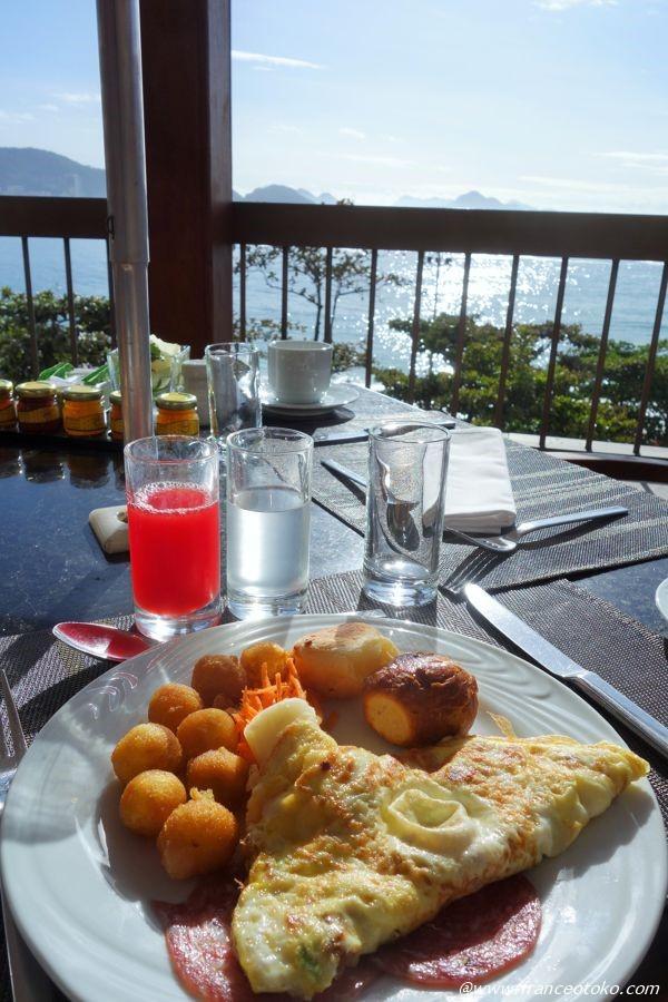 ブラジル 朝ご飯