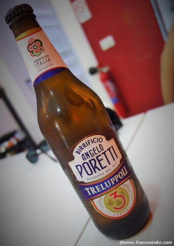 イタリア ビール poretti