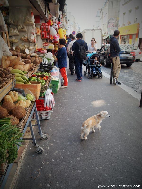ベルヴィル パリ ベトナムサンドイッチ
