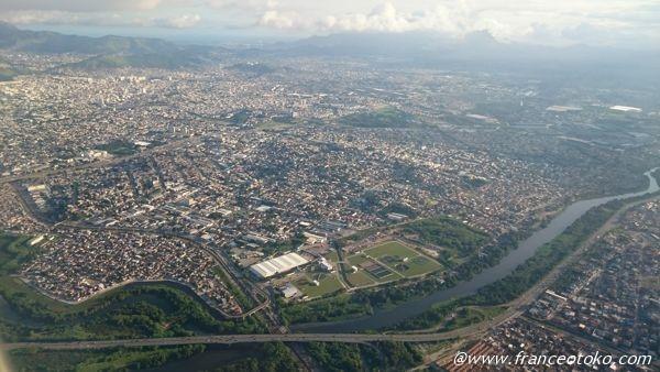 リオデジャネイロ 上空