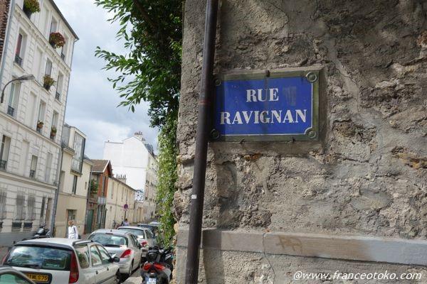 rue ravignan