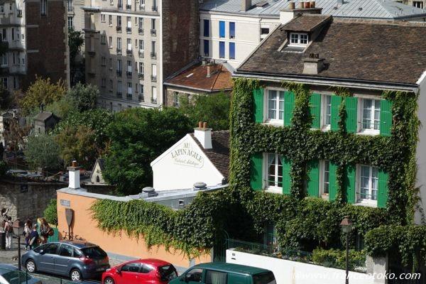 パリ 一軒家