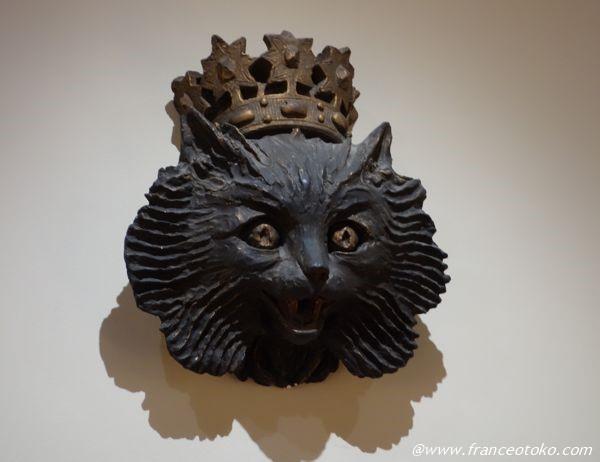 Musee de Montmartre 猫 王冠