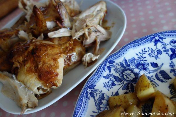 フランス チキン丸焼き