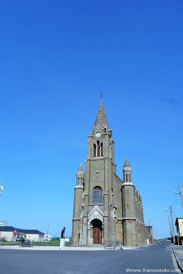 ディエップ きれいな教会