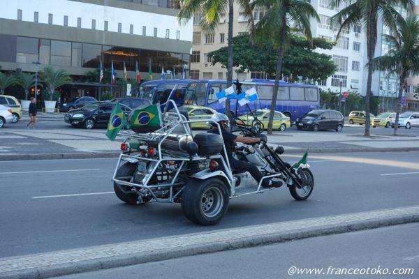 ブラジル バイク