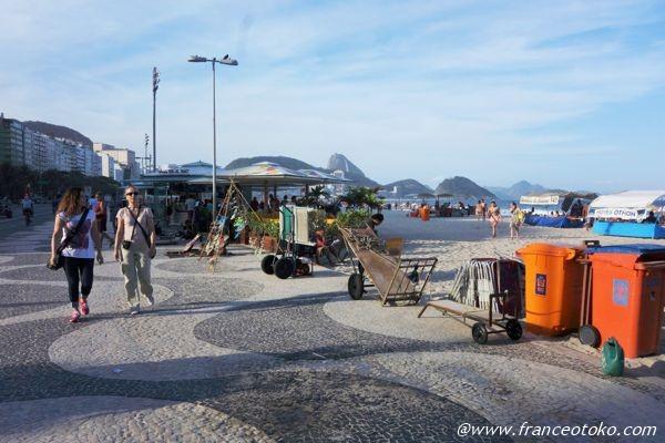 copacabana ブラジル