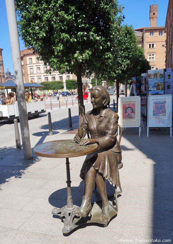 フランス 銅像