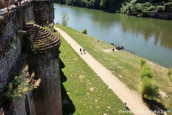 タルヌ川 フランス トゥールーズ