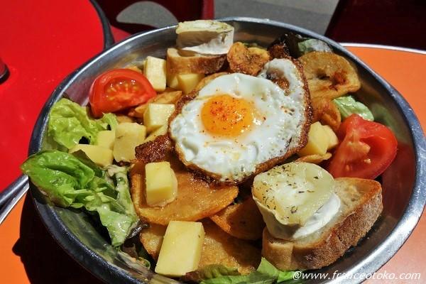 フランスのサラダ