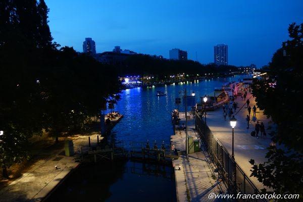 パリ サンマルタン 夜景