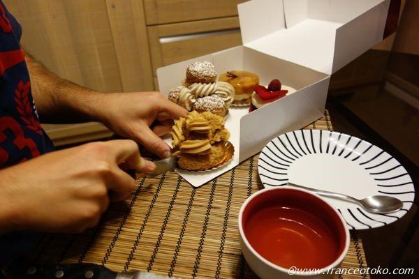 bruno saladino リヨン ケーキ