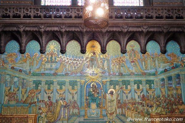フルヴィエール大聖堂 壁画