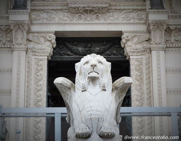 翼のあるライオン