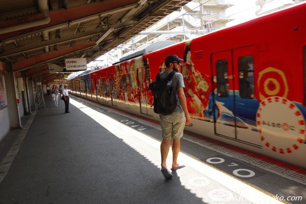 大阪 電車 アート