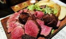 大衆肉食堂 源兵衛で最高幸せに塊肉をほおばる大阪グルメ