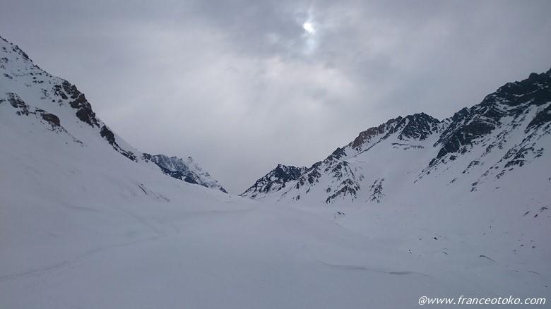 チリ 雪山