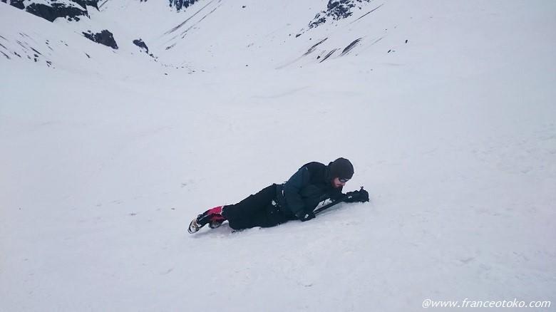雪山 遭難 訓練