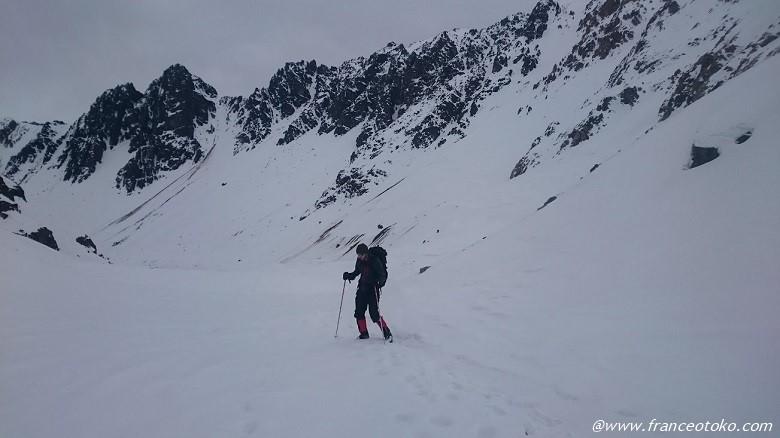 チリ 雪山登山