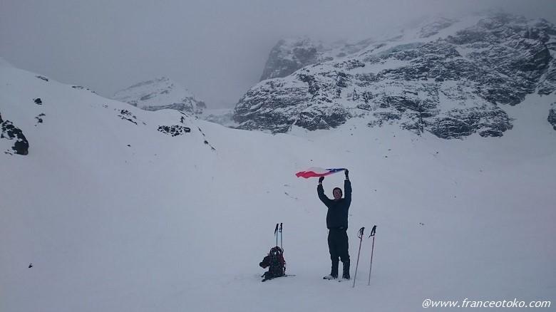 チリ 雪山登山 ガイド