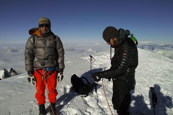 モンブラン 登山ガイド
