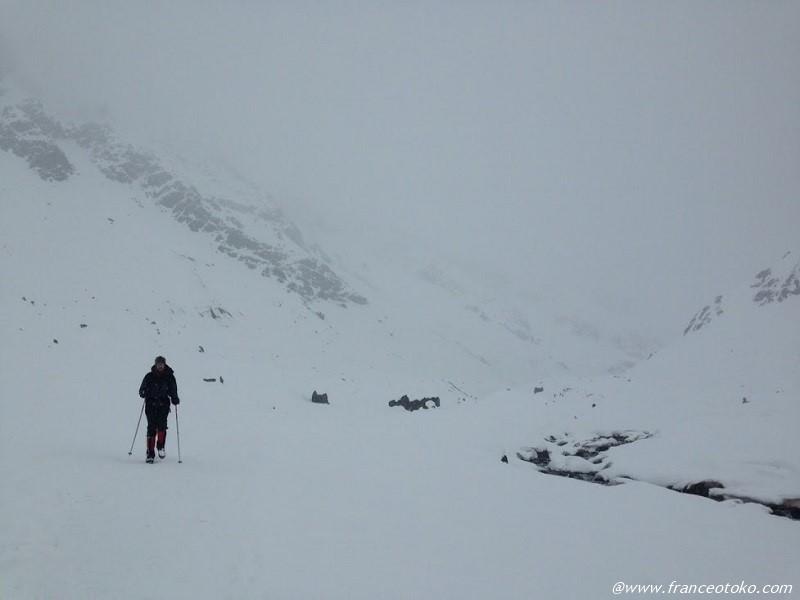 チリ 山 冬 登山