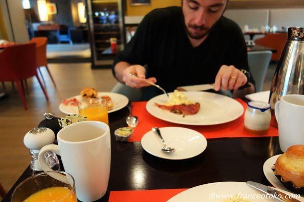 ホテル 朝食
